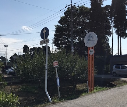 庄川方面から砺波駅方面の画像